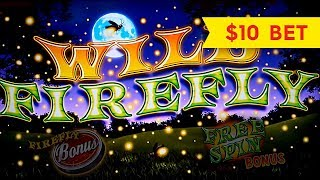 Wild Firefly Slot - $10 Max Bet - BIG WIN Bonus!