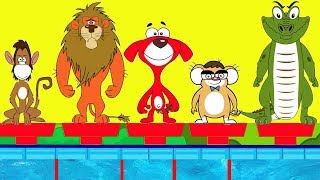 Rat-A-Tat |'Funny Animals Swimming Race + More Videos for Kids'| Chotoonz Kids Funny Cartoon Videos