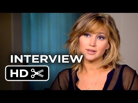The Hunger Games: Catching Fire Jennifer Lawrence Interview  (2013) HD