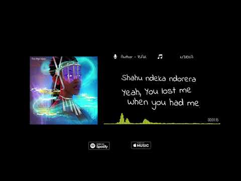 Download Rita Ange Kagaju - Ndeka lyrics