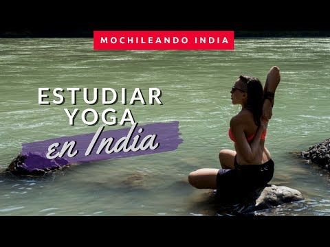 hacia el origen: un mes de yoga en Rishikesh, India | 200hrs TTC (subs in english)
