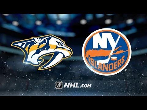 Nashville Predators Vs. New York Islanders | NHL Game Recap | March 27, 2017