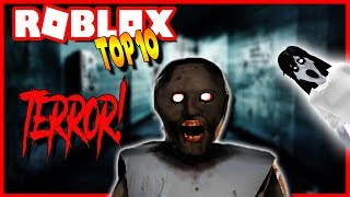 TOP 10 GAMES OF MIEDO and TERROR in ROBLOX