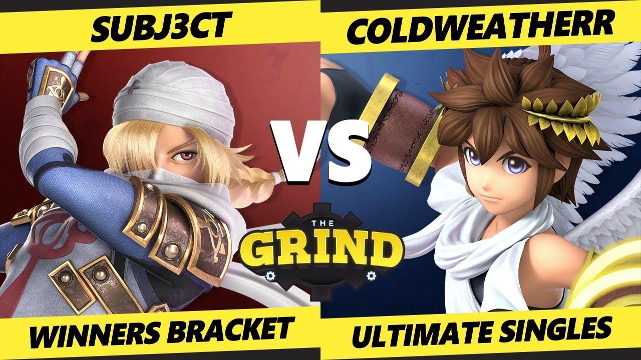 Download Smash Ultimate Tournament - SUBJ3CT (Sheik, Mario) Vs. ColdWeatherr (Pit) The Grind 88 SSBU Winners