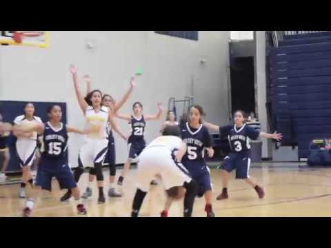 Basketball 7th Grade Girls  Eastwood VS Valley View 2018