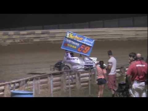 Selinsgrove Speedway PA Speedweek and Super Sportsman Highlights 7-08-12