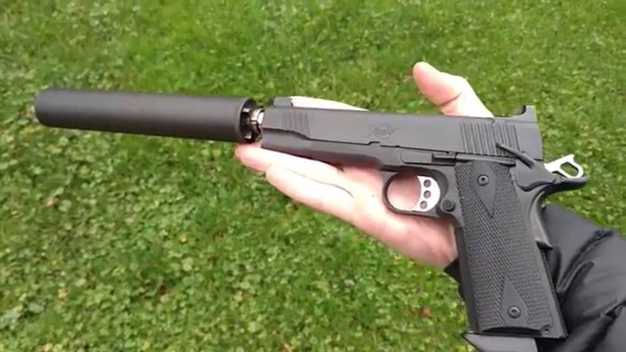 Kimber TLE II Tactical SUPPRESSED