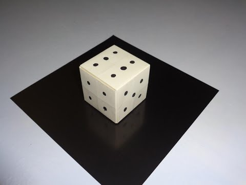 How to make a simple Paper Dice - #16