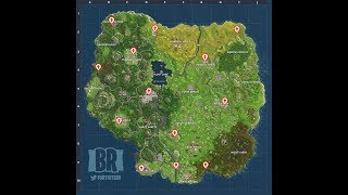 FORTNITE: All ice cream truck LOCATIONS! [MAP] [WEEK 4]