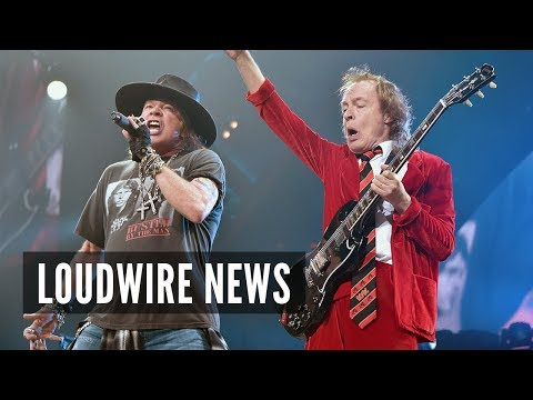 AC/DC Making New Album With Axl Rose, Says GN'R Opener