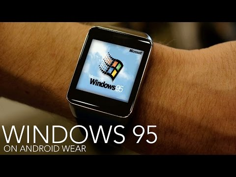 Least useful hack ever puts Windows 95 on your smartwatch