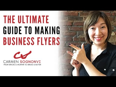 how to make business flyers the ultimate guide carmen sognonvi