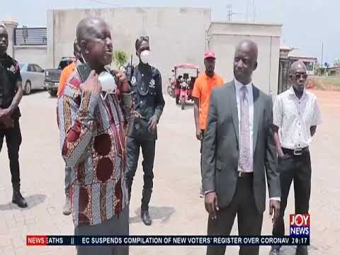 Disinfection of market center to take place in Kumasi - Joy News Prime (26-3-20)
