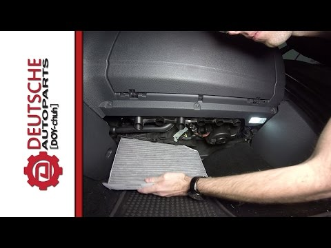 Volkswagen Cabin Air (Pollen) Filter How to (DIY) Install and Where it is Located