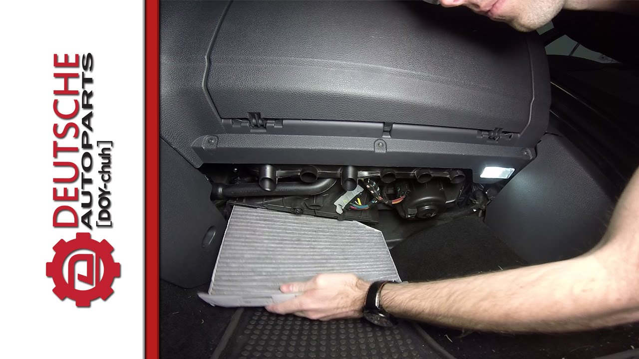 Volkswagen Cabin Air Pollen Filter How To Diy Install