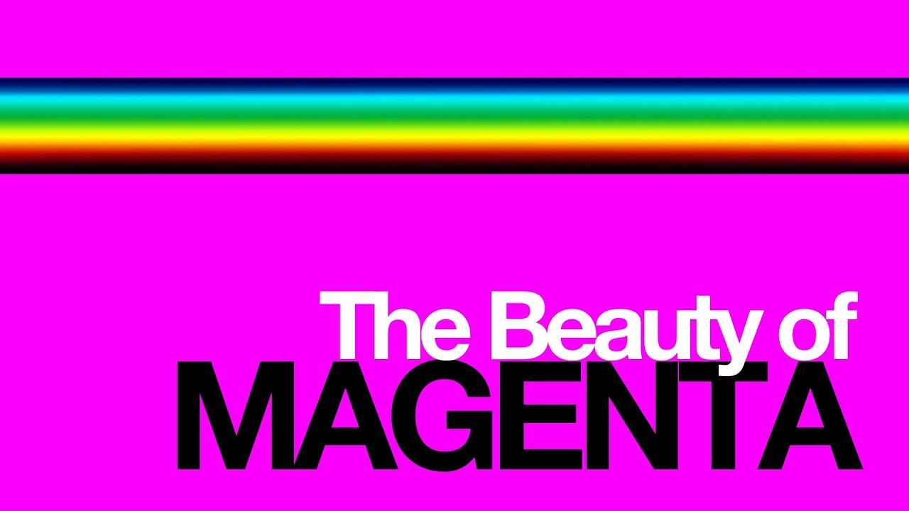 Colour Theory The Beauty Of Magenta