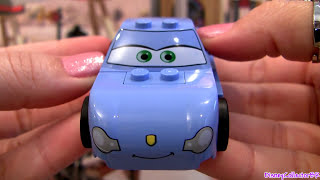 Lego Cars 2 Sally Review How-to Build Disney Pixar Toys 32 Pieces From 8487 Flo's V8 Cafe