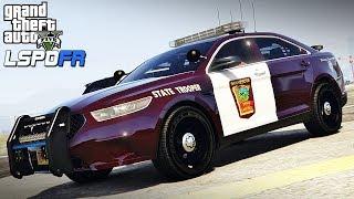 GTA 5 LSPDFR #46 - Minnesota State Patrol  (My Home State Patrol)