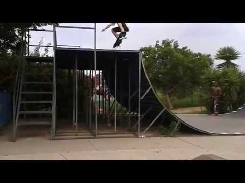 Crazy Brian Stylianou 10 years old drops a 8ft