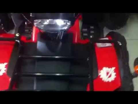 Видео обзор квадроцикла ArmadA 150B 1