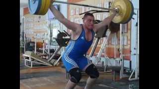 Цынцарь Павел, вк 94 Рывок 120 кг