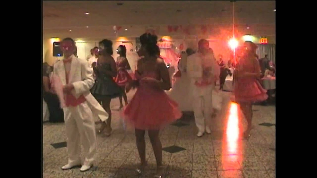 KEISLA'S SWEET 16 MASQUERADE DANCE - YouTube
