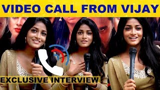 Video Call From Vijay – Super Exclusive Interview With Dimple Hayati