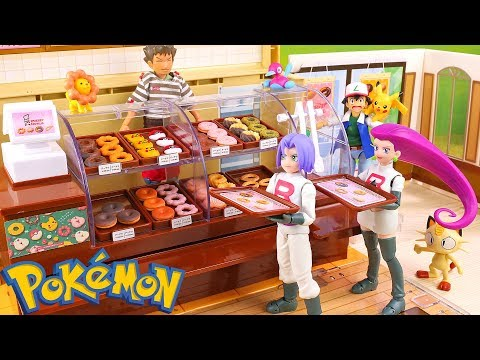 Pokemon Donut | Mister Donut Japan | Stop Motion Video