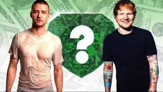WHO'S RICHER? - Justin Timberlake or Ed Sheeran? - Net Worth Revealed!