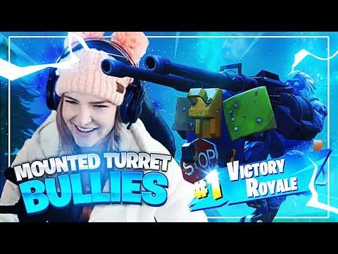 MOUNTED TURRET BULLIES! w/ Svennoss (Fortnite: Battle Royale) | KittyPlays