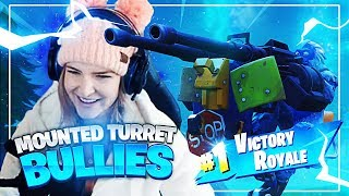 MOUNTED TURRET BULLIES! w/ Svennoss (Fortnite: Battle Royale) | KittyPlays