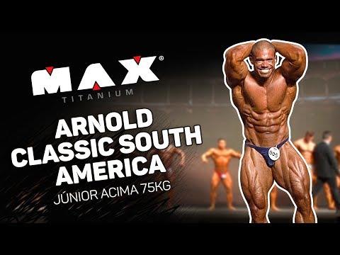 Competição Júnior Acima 75kg | Arnold Classic South America 2018