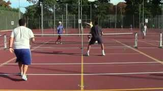 Pickleball - Partido (2 de 5) con Timothy Nelson en La Chopera (Madrid)