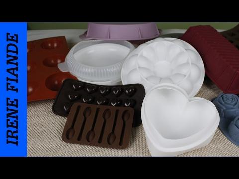 Покупки на Алиэкспресс.  Силиконовые формы для конфет, выпечки, муссовых тортов.