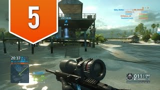 BATTLEFIELD HARDLINE (PS4) - RTMR - Live Multiplayer Gameplay #5 - SCOUT ELITE!