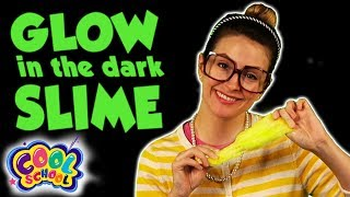 SLIME - Glow in the Dark + Craft Box Sneak Peak! | Art & Crafts with Crafty Carol at Cool School