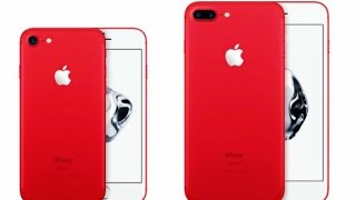 NEW Red iPhone 7 Plus Unboxing 128GB + Quick Comparison