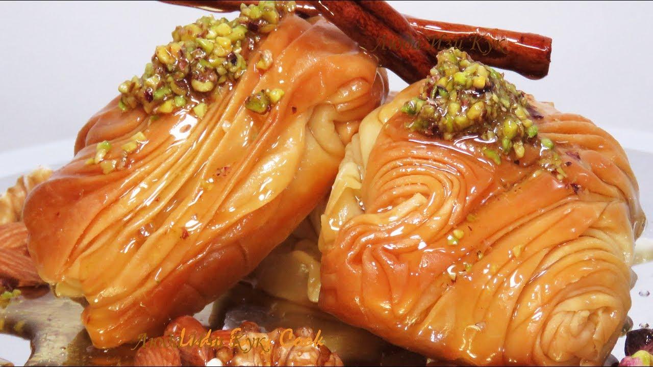 Восточные сладости из теста фило