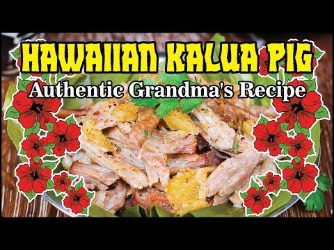 BBQ Hawaiian Kalua Pig Pork Shoulder How-To BBQ Champion Harry Soo SlapYoDaddyBBQ.com