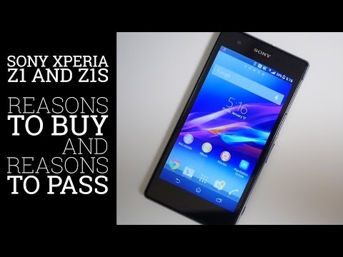 Sony Xperia Z1 and Z1S – 5 Reasons to buy and 5 Reasons to pass