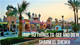 [4K] Top 10 Things To See And Do in Sharm el Sheikh - 10 Highlights not to be missed - Egypt Ägypten