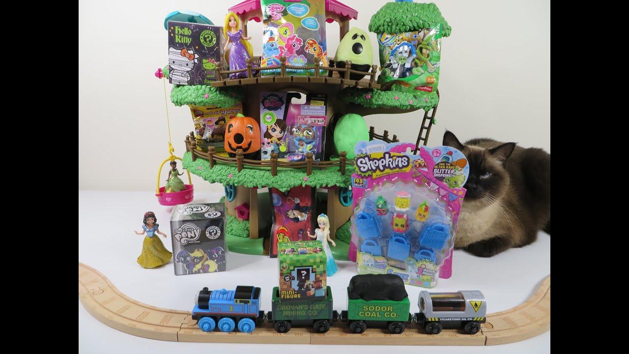 Blind bag mystery treehouse playdoh mlp lps shopkins hello - Lego hello kitty maison ...