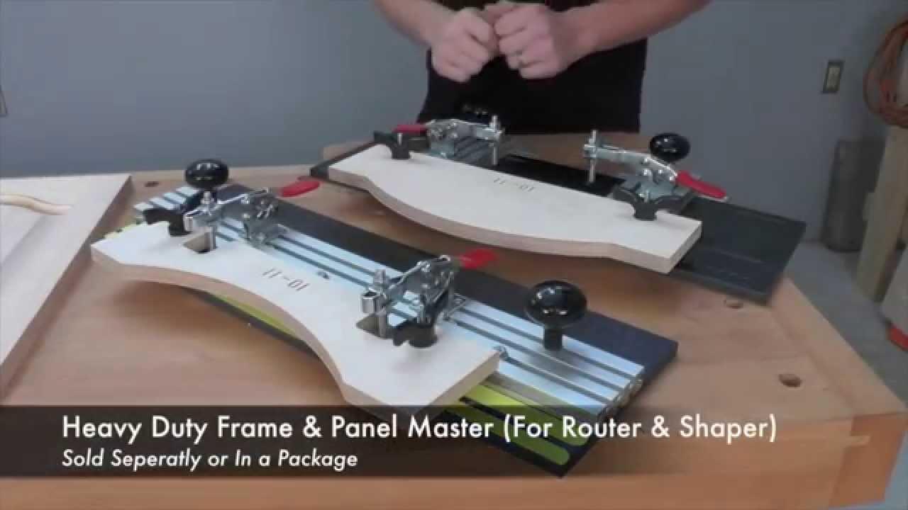 Infinity Cutting Tools - Frame & Panel Master Door Making Kits - YouTube