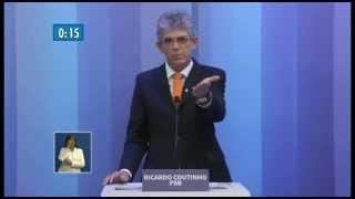 Debate para Governador da Paraíba - TV Cabo Branco / TV Globo - 30/09/2014 - Completo