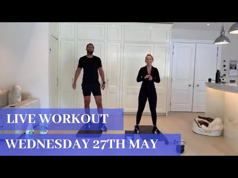 Stay at Home - minimal/no equipment workout (Wednesday 27th May)