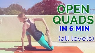 Quad Stretch: Yoga Poses to Open Your Quads in 6 Minutes