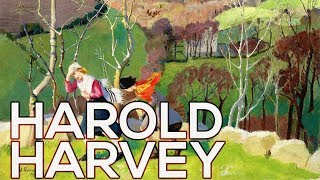 Harold Harvey: A collection of 108 paintings (HD)