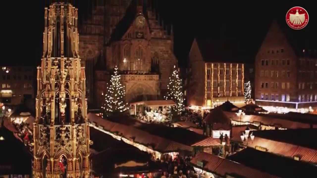 Weihnachtsmarkt Nürnberg.Der Nürnberger Christkindlesmarkt
