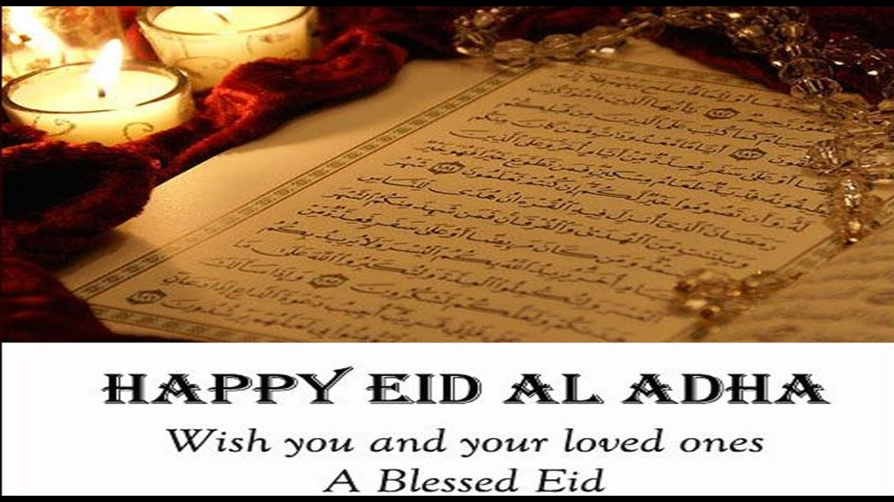 Happy eid ul adha 2016 bakra eidbakrid wishes sms greetings happy eid ul adha 2016 bakra eidbakrid wishes sms greetings quotes whatsapp video message 4 youtube kristyandbryce Gallery
