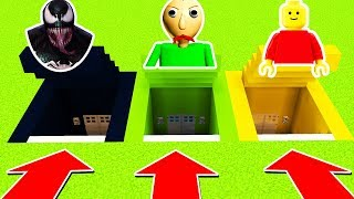 DO NOT CHOOSE THE WRONG SECRET BASE (BALDI BASICS,VENOM,LEGO) Ps3/Xbox360/PS4/XboxOne/PE/MCPE)